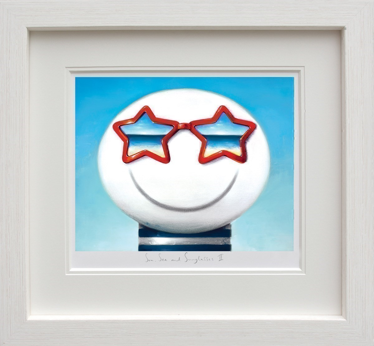 Sun Sea And Sunglasses II by Doug Hyde - Limited Edition on Paper sized 14x11 inches. Available from Whitewall Galleries